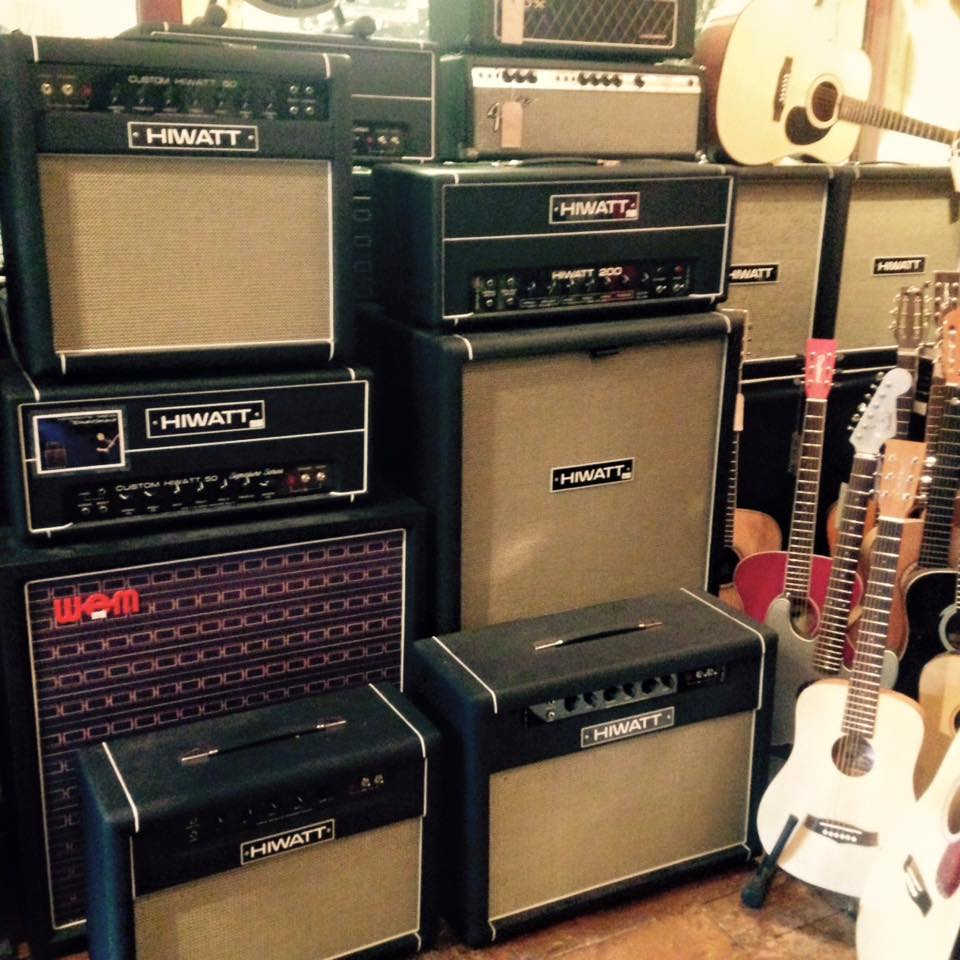 hiwatt, denmark street, london, amplifiers london, amps