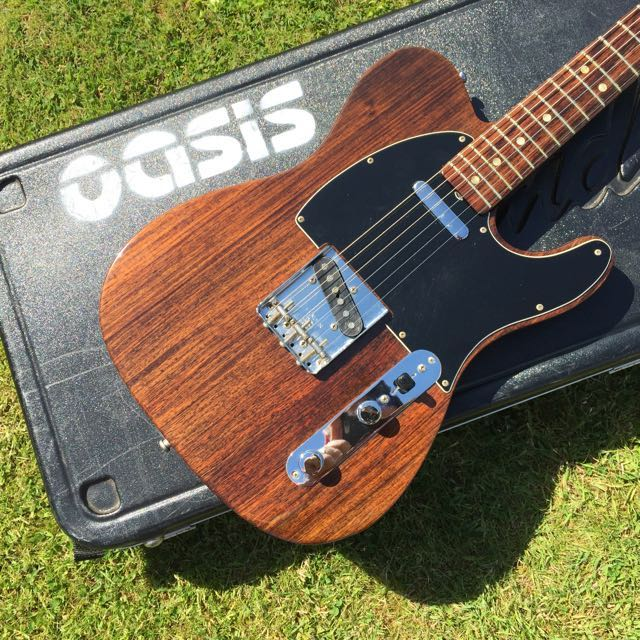 Noel Gallagher Fender Rosewood Telecaster